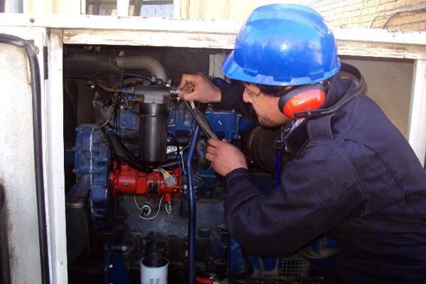 Manutenção de Geradores de energia diesel