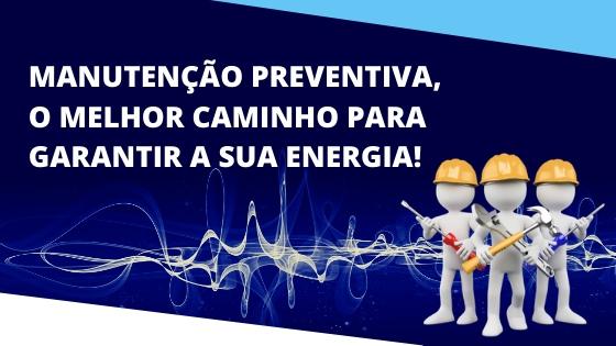 manutenção preventiva de gerador de energia