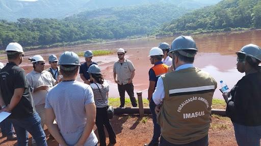 monitoramento e gestão de barragens e áreas de mineração